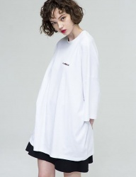 [THE GREATEST] OVERSIZE T-SHIRTS WHITE