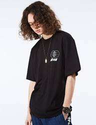[NASTY KICK] [NSTK] ELECTRIC WAGON TEE [BLK]