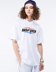 [NASTY KICK] [NSTK] NSTK MULTIFLASH TEE [WHT]