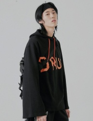 [DRUG WITHOUT SIDE EFFECT] LCD Overfit Hoodie (Black)