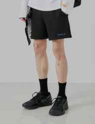 [DRUG WITHOUT SIDE EFFECT] S-ROUND Sweat Shorts (Black)