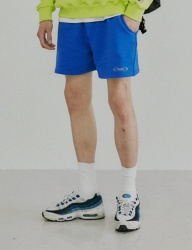[DRUG WITHOUT SIDE EFFECT] S-ROUND Sweat Shorts (Blue)