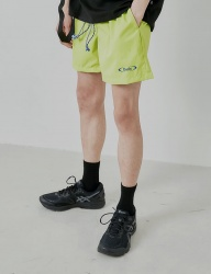 [DRUG WITHOUT SIDE EFFECT] S-ROUND Nylon Shorts (Neon)