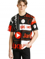 [HEICH BLADE] TERRITORY GRAPHIC SHORT SLEEVED TOP