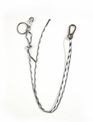 [13month] STRAP KEY CHAIN (WHITE)