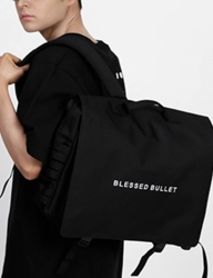 [BLESSED BULLET] SIGNATURE MESSENGER BACKPACK [Black]