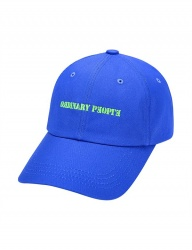 [ORDINARY PEOPLE] ORDINARY YELLOW-GREEN POINT BALL CAP