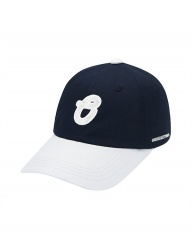 [ORDINARY PEOPLE] ORDINARY COLOR BLOCK OP PATCH NAVY BALL CAP