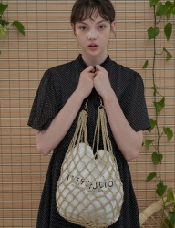 [1159STUDIO] MH6 HANDMADE NETTING BAG_BE