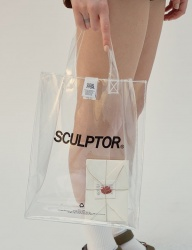 [SCULPTOR] SCULPTOR CLEAR BAG