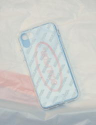[SCULPTOR] LOGO-PATTERN PHONE CASE