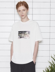 [UMM] UMM WORLD BOX 2/1 T-SHIRT _ IVORY