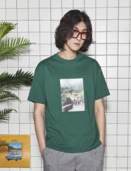 [UMM] WORLD BOX 2/1 T-SHIRT _ GREEN