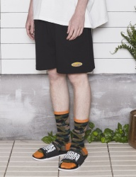 [UMM] WORLD WIDE  COTTON BOXER SHORTS _ BLACK