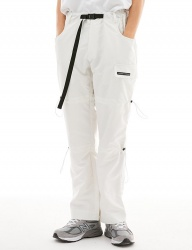 [OVERSIZE HAPPENING] BD STRING PANTS WHITE