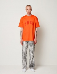 [SEWING BOUNDARIES] SWBD LOGO BASIC TEE 18SS ORANGE