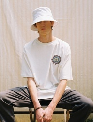 [PRAIRIE] SUN-FLOWER PREMIUM COTTON BOX 1/2T-SHIRT