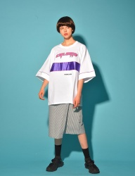 [PIGMILLION] THUNDER CAL TEE (WHITE)