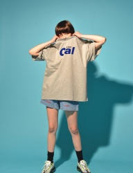[PIGMILLION] CAL LOW TEE (GREY)