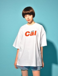 [PIGMILLION] CAL LOW TEE (WHITE)