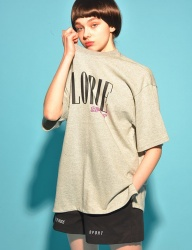 [PIGMILLION] CAL ROMA TEE (GREY)