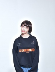 [PIGMILLION] BURNING COLOR MTM (BLACK)