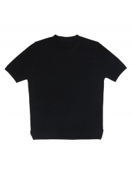 [whatever we want] R/N ROUND KNIT [BLACK]