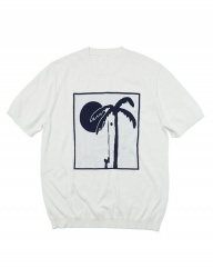 [whatever we want] PALM TREE KNIT [IVORY]