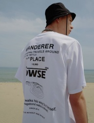 [DRUG WITHOUT SIDE EFFECT] Wanderer T-Shirts (White)