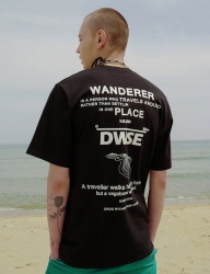 [DRUG WITHOUT SIDE EFFECT] Wanderer T-Shirts (Black)