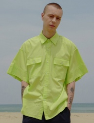 [DRUG WITHOUT SIDE EFFECT] Oversized Cuffs Shirts (Neon)