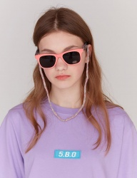 [5252] 5.B.O BOX LOGO T-SHIRTS (LIGHT PURPLE)