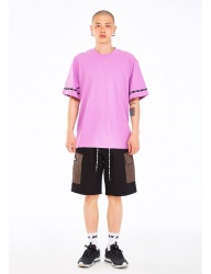 [NASTY KICK] [NSTK] EASY CODE 001 TEE [PURPLE]