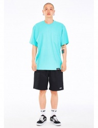 [NASTY KICK] [NSTK] EASY CODE 002 POCKET TEE [AQUA]