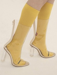 [ODDONEOUT] BASIC SOCKS (YELLOW)