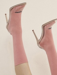 [ODDONEOUT] BASIC SOCKS (PINK)