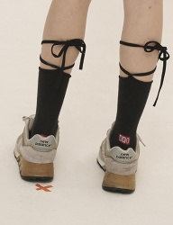 [ODDONEOUT] NEW STRING SOCKS (BLACK)