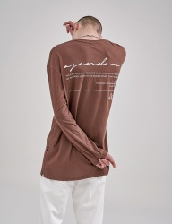 [AGENDER] LONG SLEEVE COLOR T-SHIRT_BR