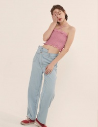 [ODDONEOUT] LONG DENIM PANTS_LIGHT DENIM