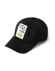 [CRITIC] WASTED PLANET BALL CAP(BLACK)