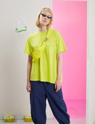 [TRUNK PROJECT] A-line dress Tshirts YELLOW