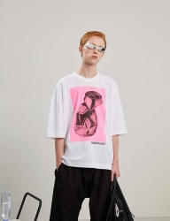 [TRUNK PROJECT] Crashcan print Tshirts PINK