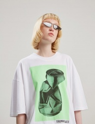 [TRUNK PROJECT] Crashcan print Tshirts GREEN
