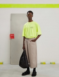 [TRUNK PROJECT] String wide pants BEIGE
