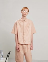 [TRUNK PROJECT] String coating shirts PINK