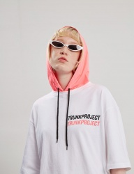 [TRUNK PROJECT] Layered hoodie Tshirts PINK
