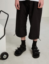 [TRUNK PROJECT] Unbalanced drape pants