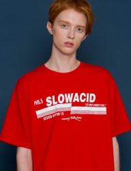 [SLOWACID] pH5.5 Logo Short-T [RED]