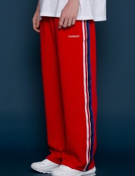 [SLOWACID] Sideline Wide pants [RED]