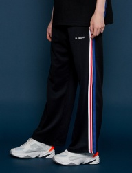 [SLOWACID] Sideline Wide pants [BLACK]